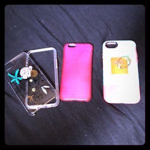 Accessories - 3 Iphone cases